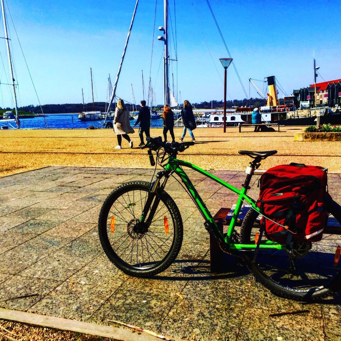 Havnen Frederikssund.