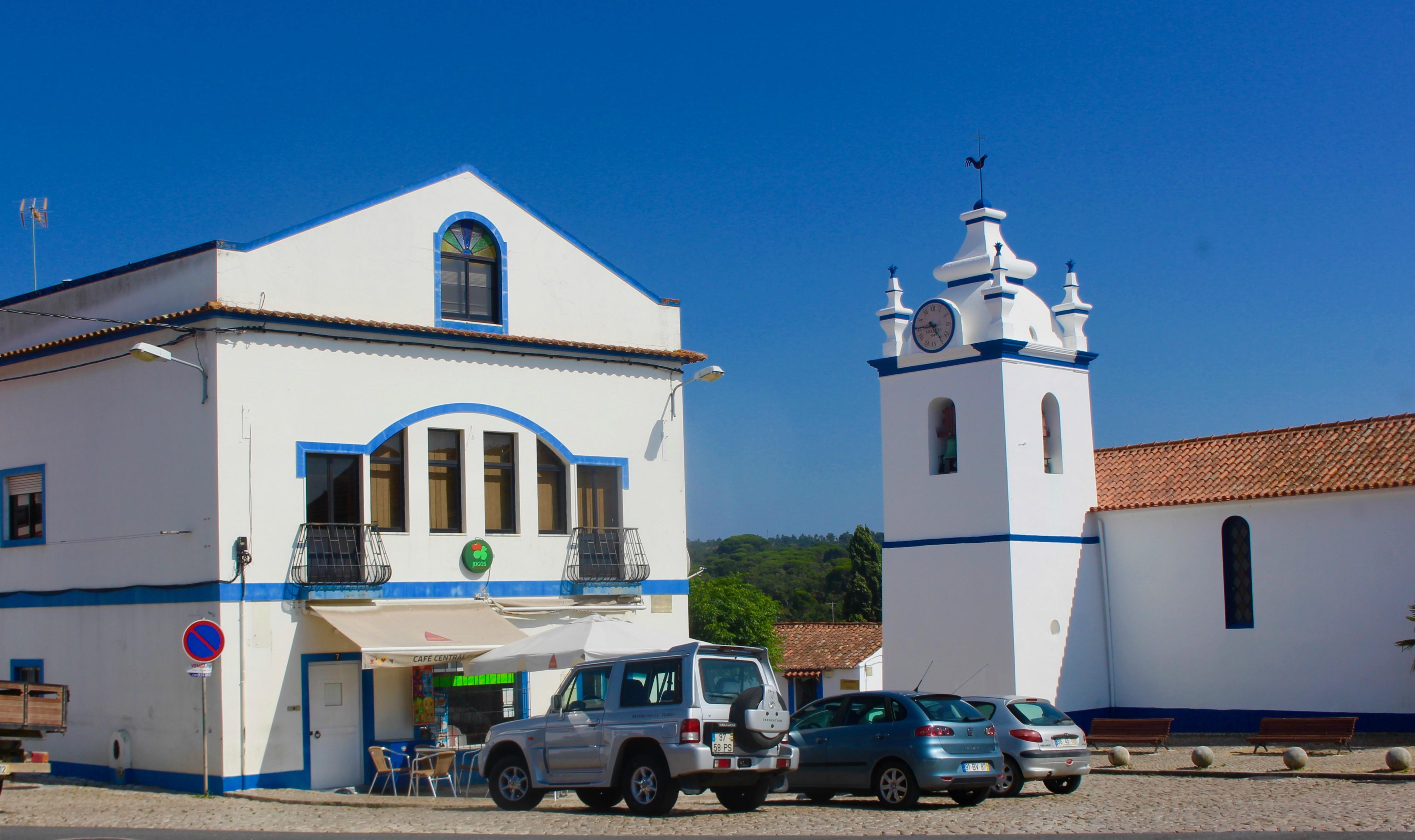 Den hyggelige landsby Melides.