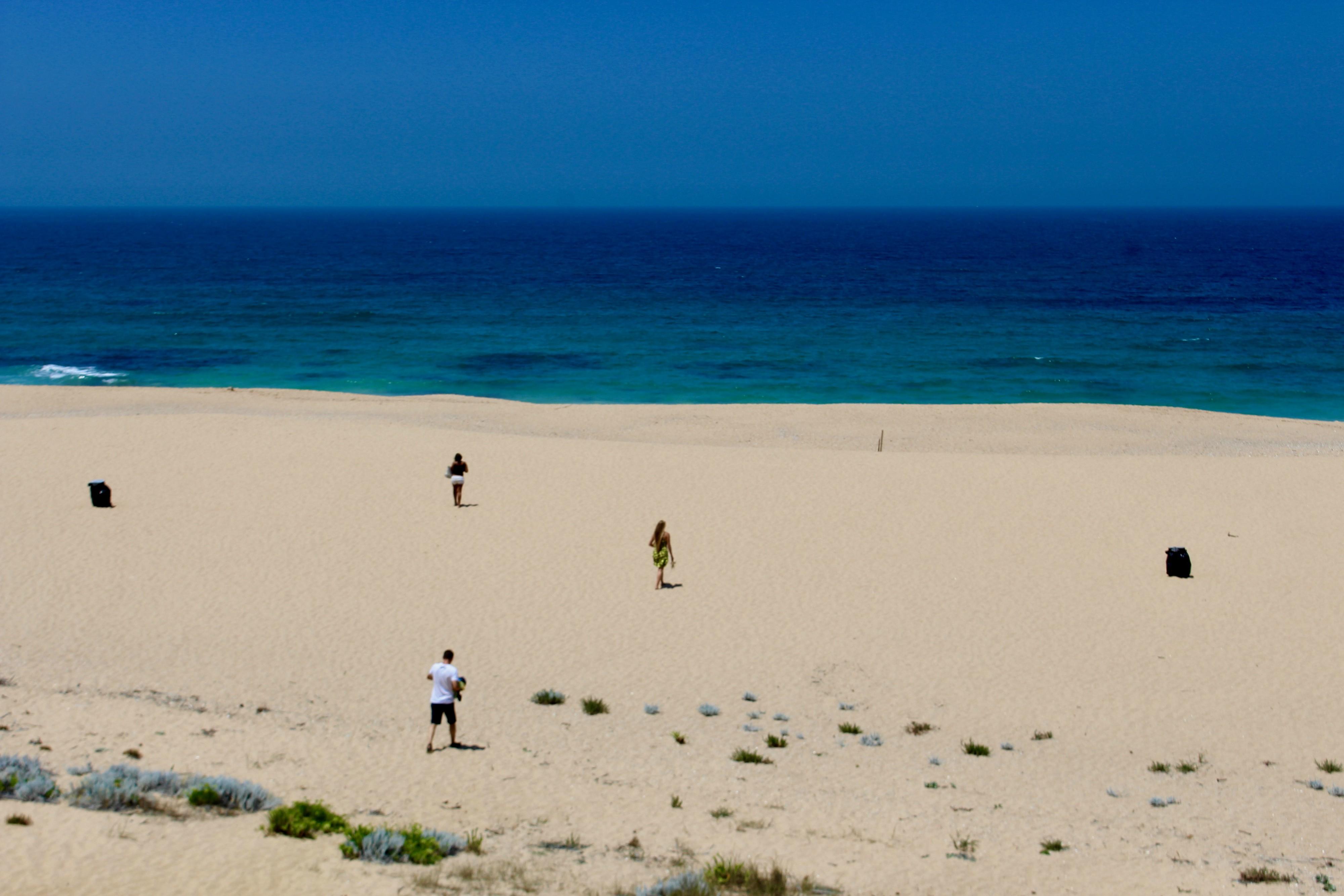 Stranden ved Melides.