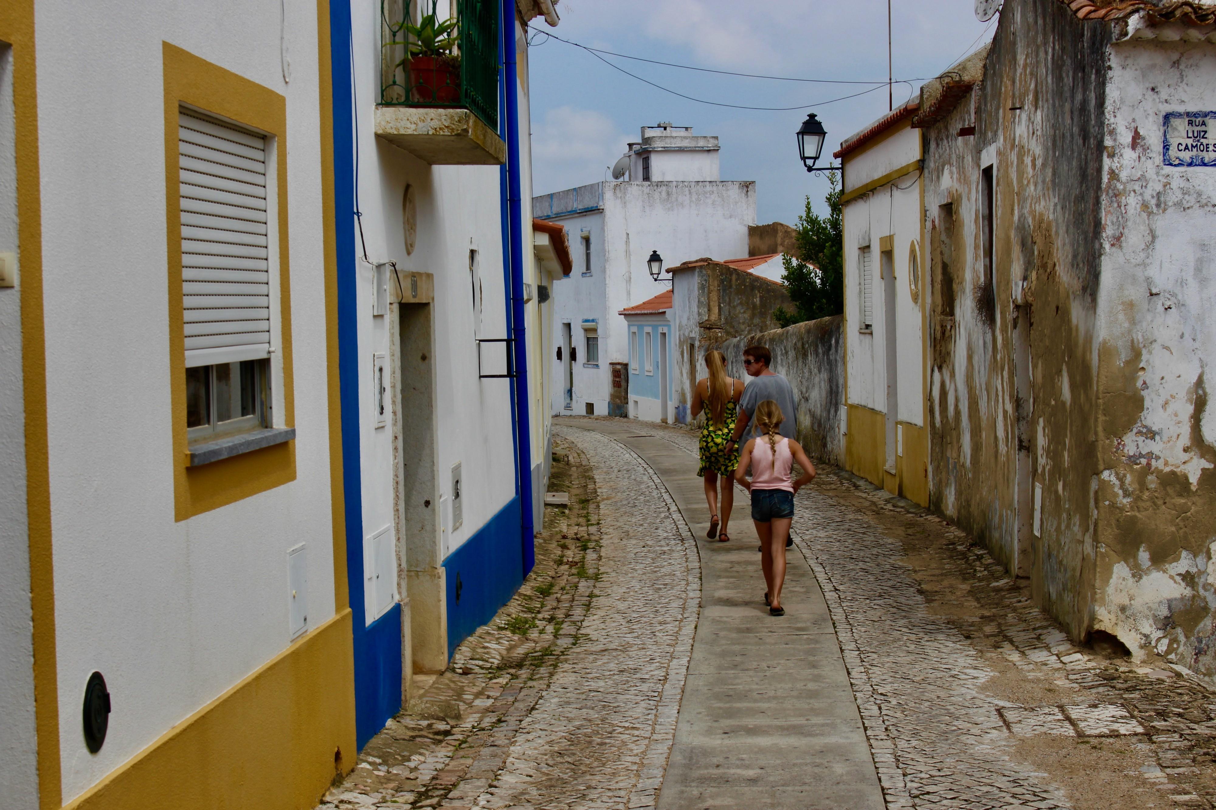 Landsby vandring i Alentejo.