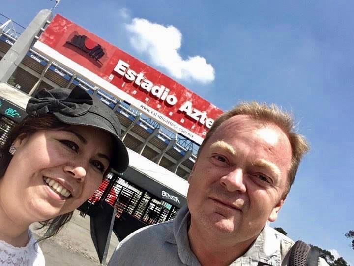 Azteca stadion i Mexico City.
