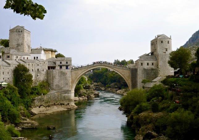 Broen i Mostar.