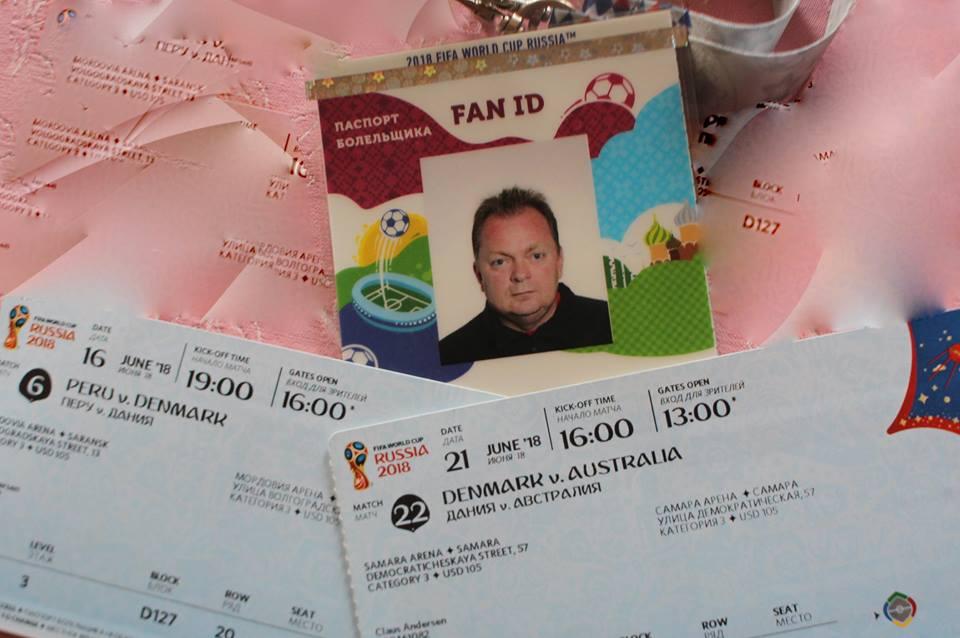 Fan ID og VM billeterne var klar.