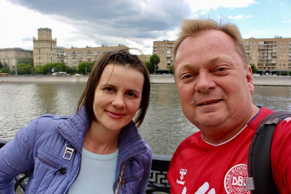Tasia fra Moskva hjalp mig med meget af det praktiske under VM i Rusland.