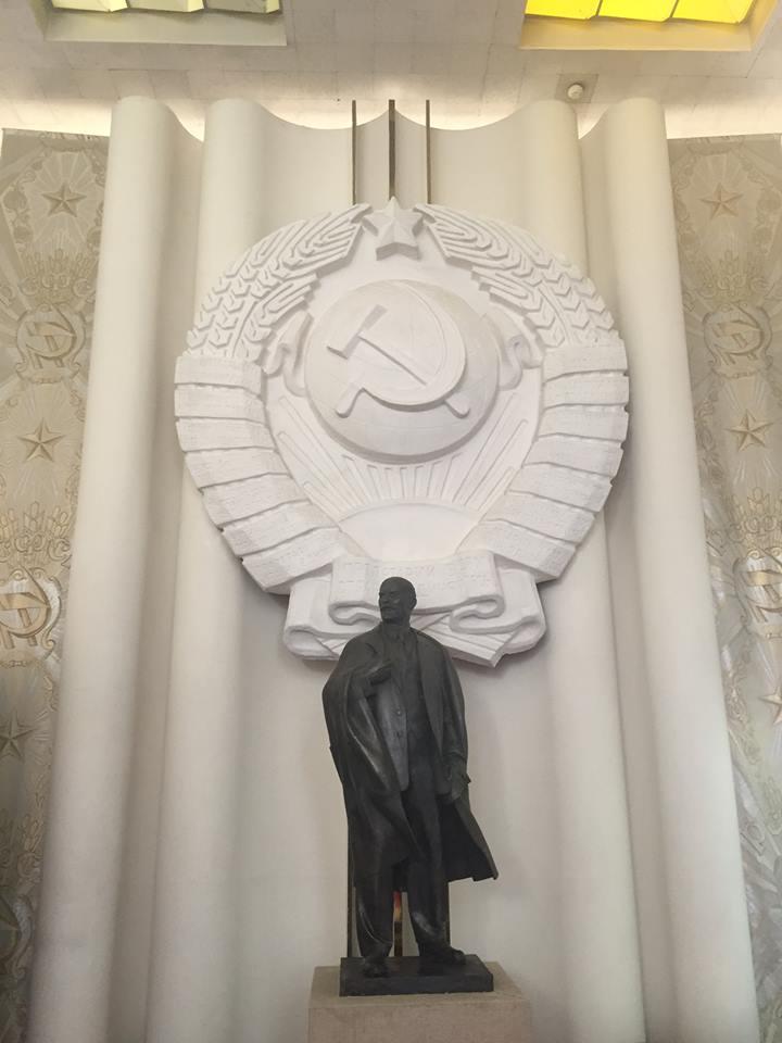I Ulyanovsk dyrker man stadig Vladimir Lenin.