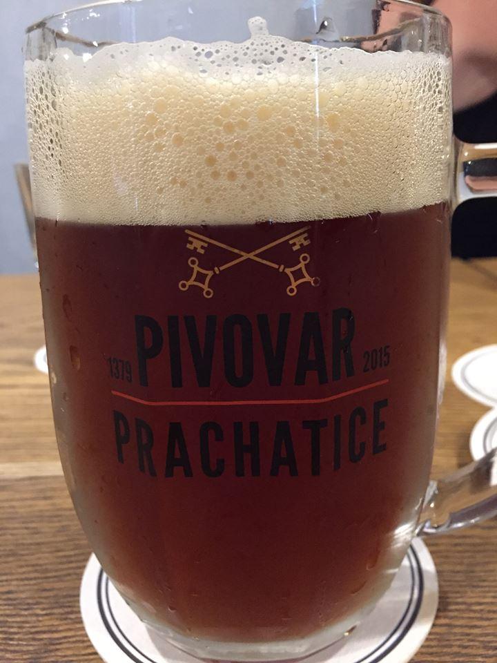 De brygger god øl i Prachatice.