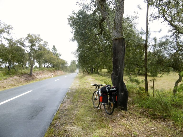 På cykel gennem Portugal.