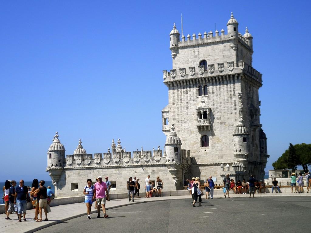 Belem tårnet i Lissabon.