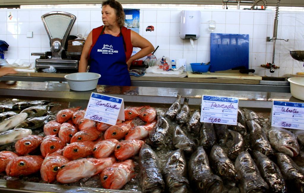 Masser af frisk fisk.